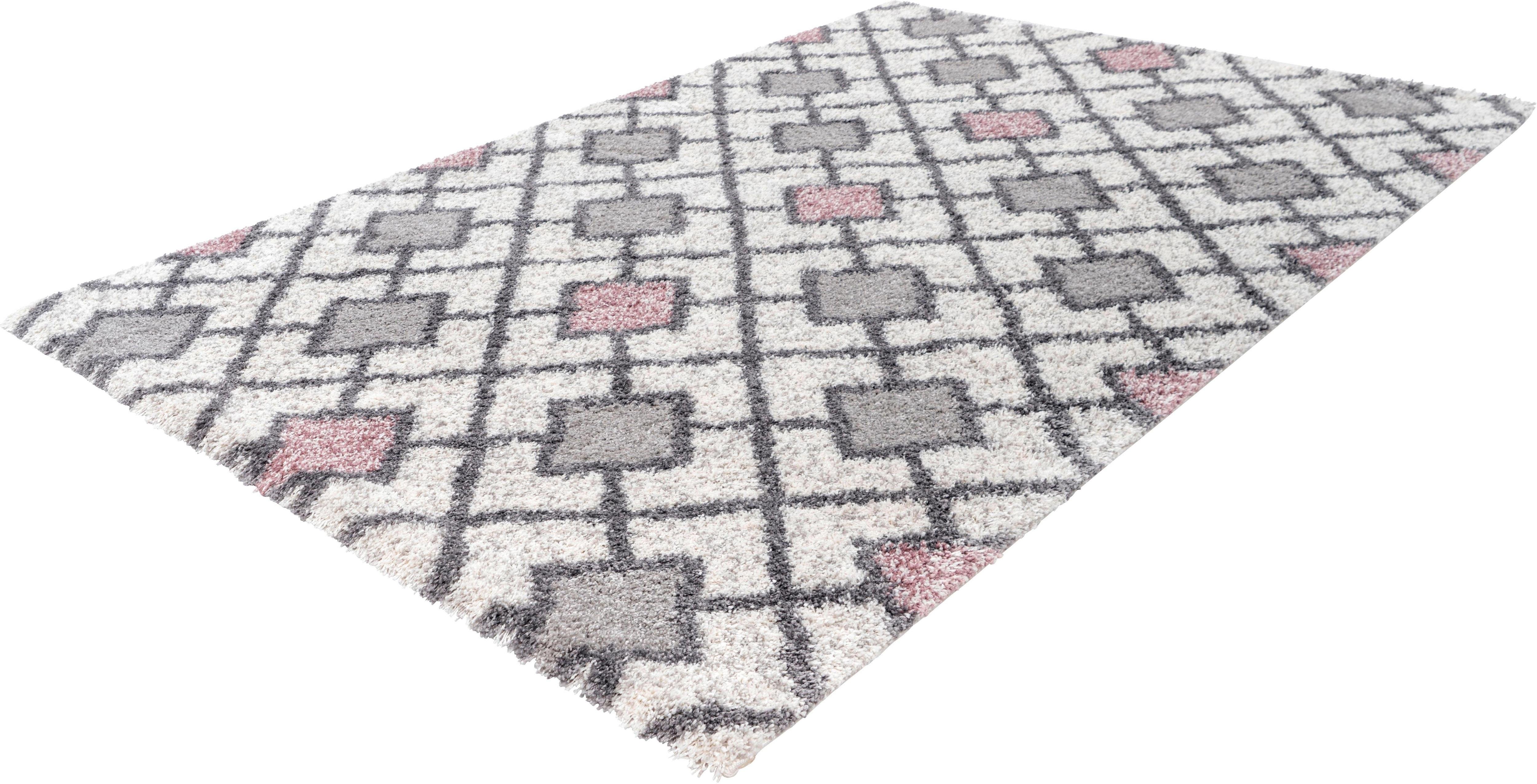Hochflor-Teppich Intact 402 calo-deluxe rechteckig Höhe 32 mm maschinell gewebt