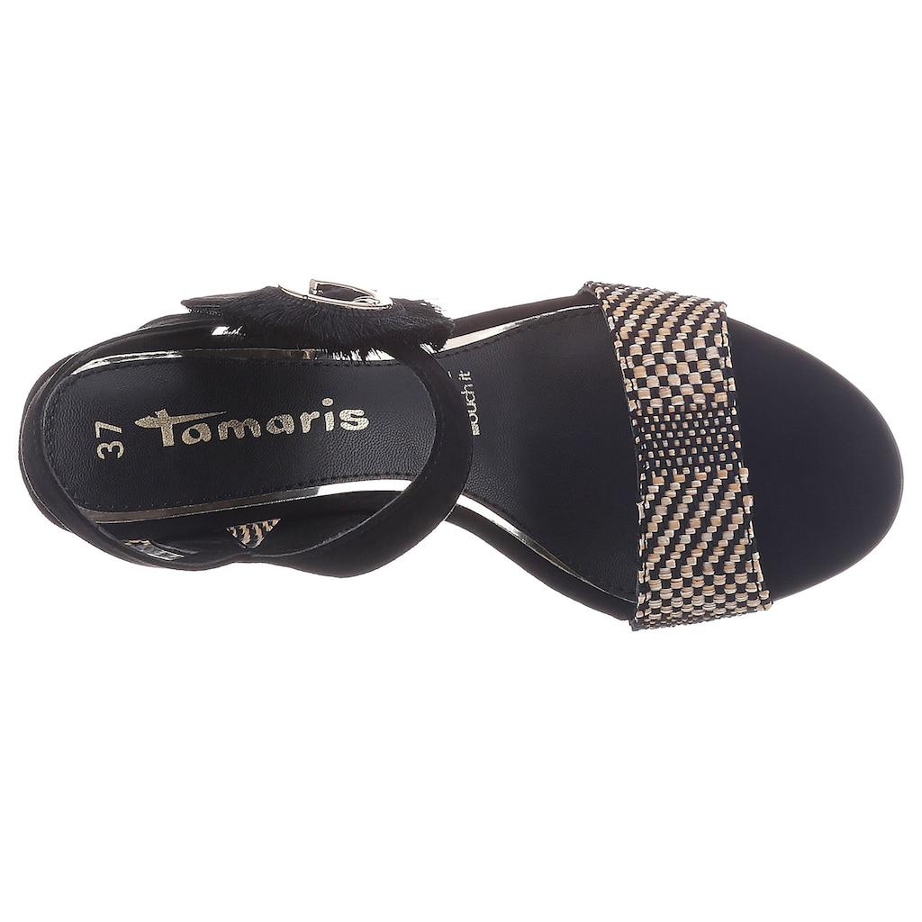 Tamaris Sandalette »Callie«, mit auffälliger Zierschnalle