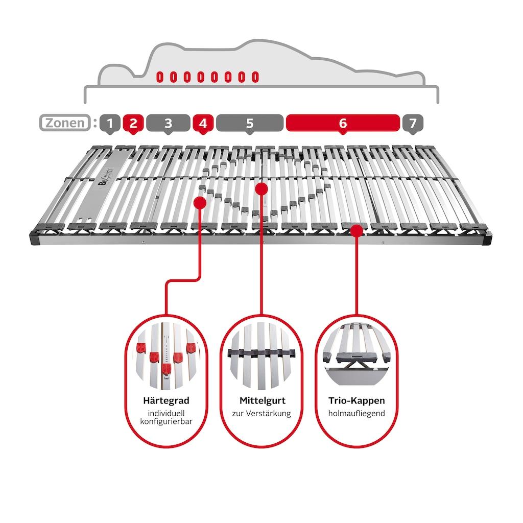 BeSports Lattenrost »ABR Comfort NV«, 45 Leisten, Kopfteil nicht verstellbar, automatische Körperanpassung, perfekt für alle