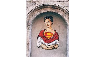 G&C Wandbild »LEDIESIS FRIDA KAHLO SUPERWOMAN«, (1 St.) kaufen