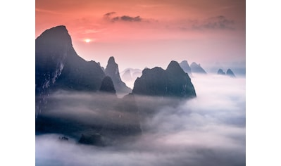 Papermoon Fototapete »Karst Mountains in Guilin China« kaufen