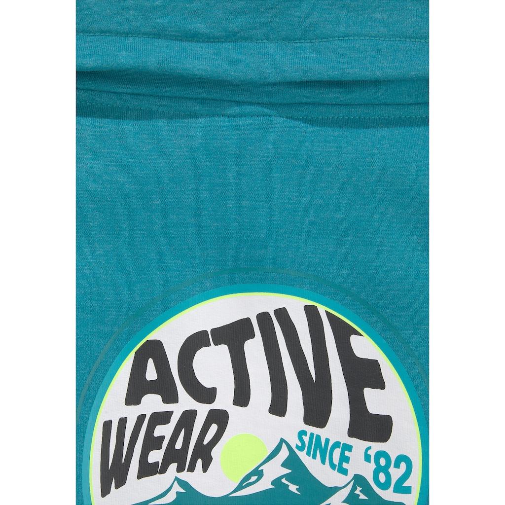Chiemsee Sweatkleid, mit schönem Schalkragen