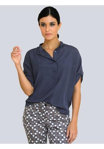 Alba Moda Klassische Bluse, in leichter Oversized-Form kaufen