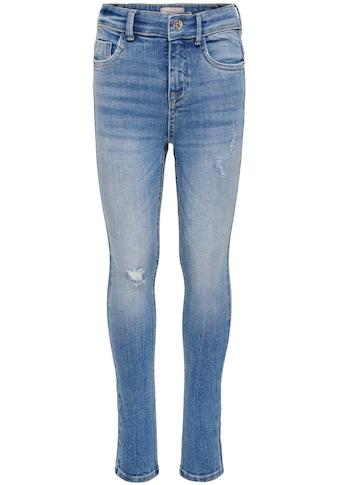 KIDS ONLY Stretch-Jeans »KONPAOLA«, mit hoher Leibhöhe kaufen