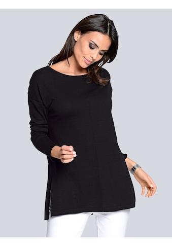 Alba Moda Longpullover, in softem Glattstrick kaufen
