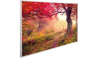 Papermoon Infrarotheizung »EcoHeat Herbstwald«, Aluminium, 600 W, 100x60 cm, mit Rahmen kaufen