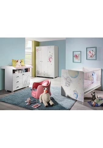 rauch ORANGE Babyzimmer-Komplettset »Vancouver«, (Set, 3 tlg.), Bett + Wickelkommode + 3 trg. Schrank kaufen