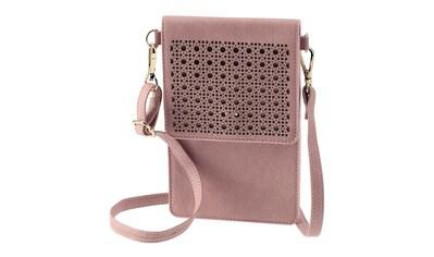 Hama Cross - Body - Tasche, Hülle universal, für Smartphones, Rosa »Smartphone - Umhänge - Tasche« kaufen