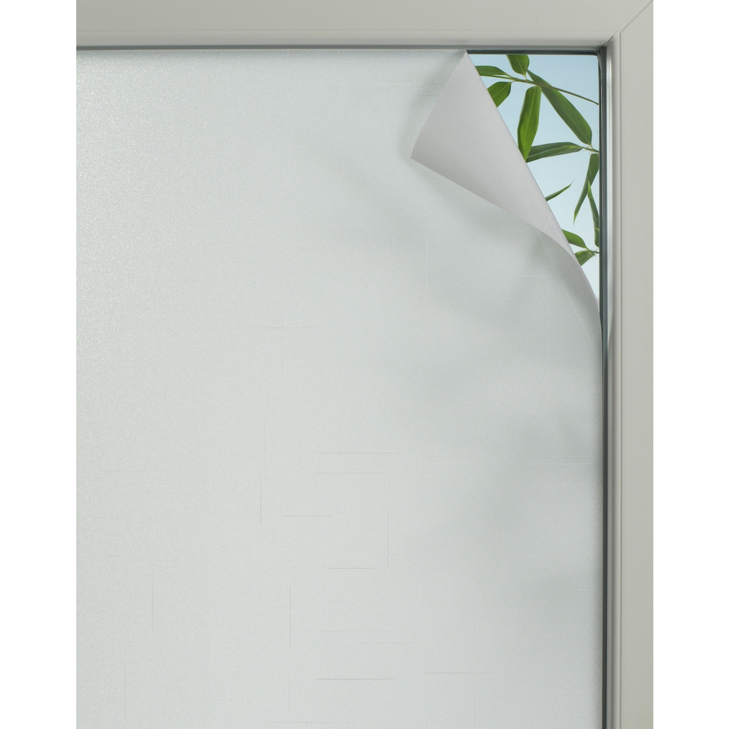 GARDINIA Fensterfolie »Textile 75«, 1 St., blickdicht, statisch haftend