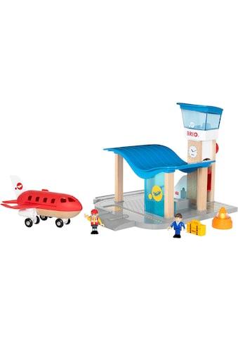 """BRIO® Spielzeugeisenbahn - Gebäude """"BRIO® WORLD Flughafen mit Tower"""" kaufen"""