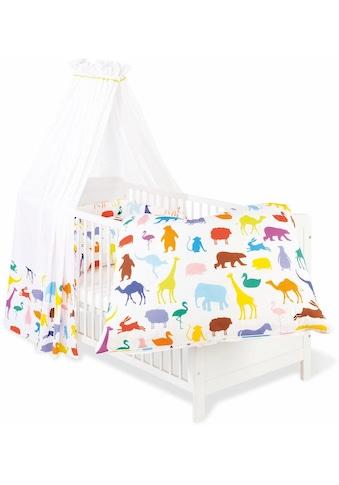 Himmelbettgarnitur »Happy Zoo«, Pinolino®, passend für Kinderbetten kaufen