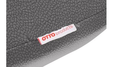 OTTO products Armlehnstuhl »Alessja«, Bezug aus Microfaser, Gestell aus Eiche Massivholz kaufen