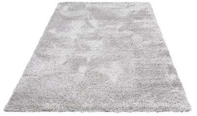 my home Hochflor-Teppich »Boldo«, rechteckig, 50 mm Höhe, besonders weich durch Microfaser, Wohnzimmer kaufen
