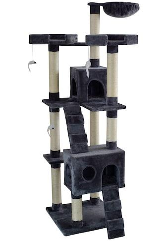 SILVIO DESIGN Kratzbaum »Herkules«, B/T/H: 50/50/170 cm, dunkelgrau kaufen