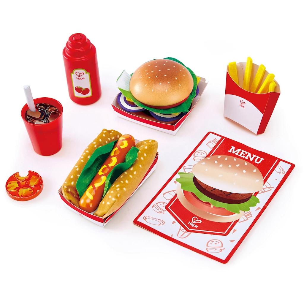 Hape Spiellebensmittel »Fastfood-Set«