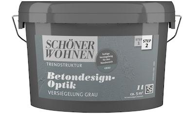 SCHÖNER WOHNEN-Kollektion Lack »Betondesign-Optik Versiegelung«, grau kaufen