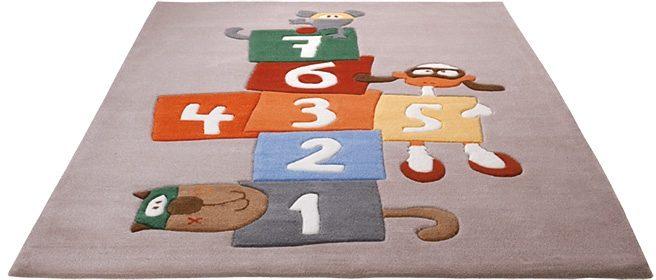 Kinderteppich Bandileros Jump Sigikid rechteckig Höhe 10 mm handgetuftet