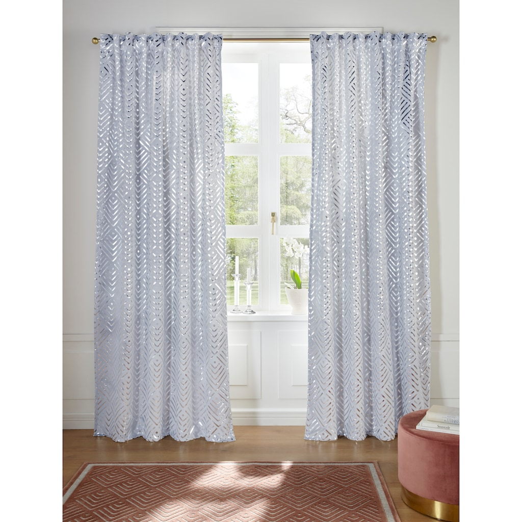 Guido Maria Kretschmer Home&Living Vorhang »Gian«, blickdicht, bedruckter Samt