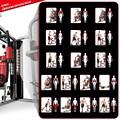 Sportstech Kraftstation »HGX200«, 12 Gewichtsblöcke