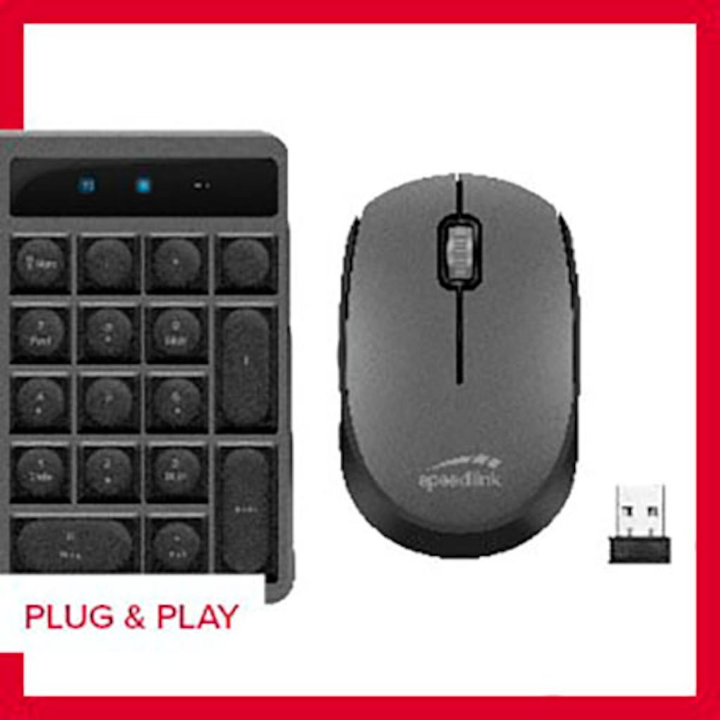 Speedlink Wireless-Tastatur »NEOVA Deskset - Wireless - DE Layout«