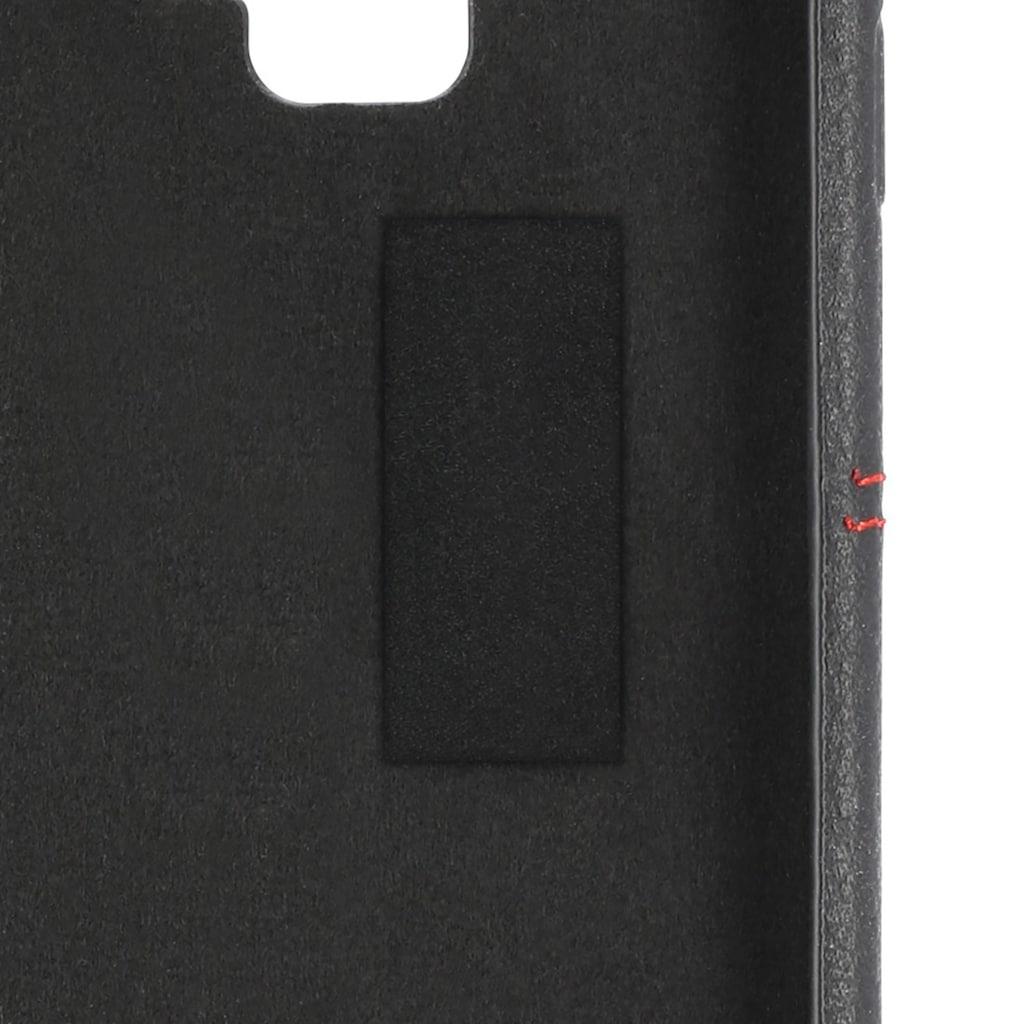 Hama Booklet, Hülle,Tasche für Samsung Galaxy S10+ Schwarz/ Rot