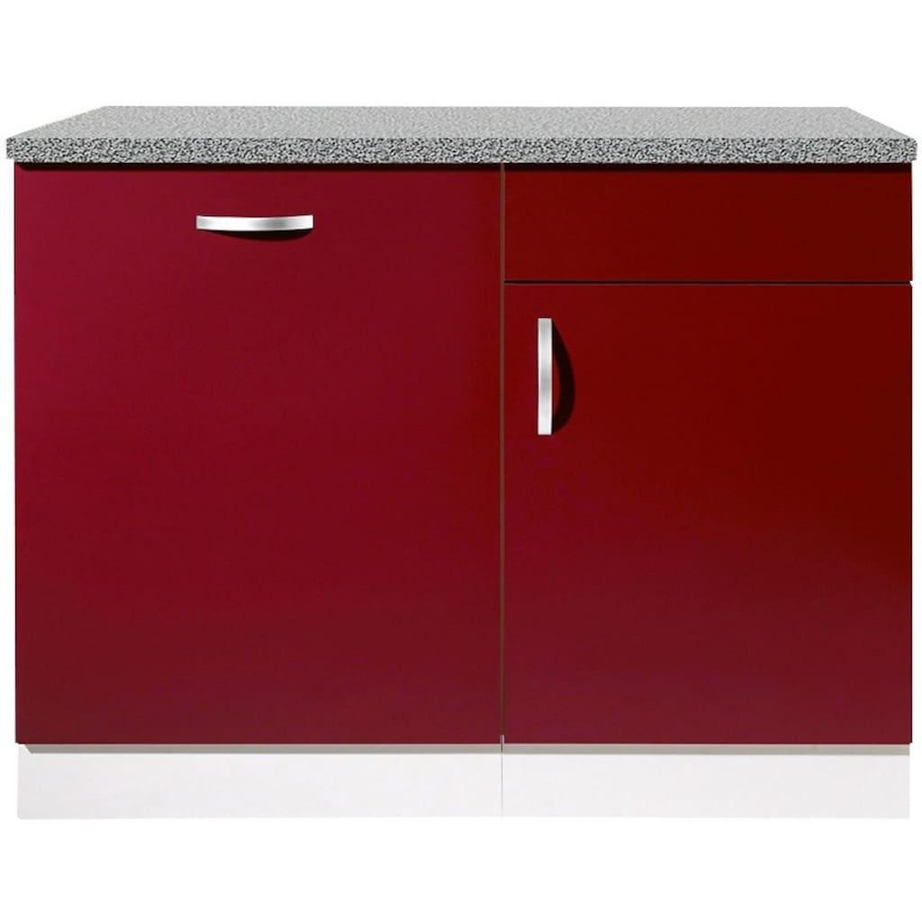 wiho Küchen Spülenschrank »Amrum«, 110 cm breit, inkl. Tür/Sockel für Geschirrspüler