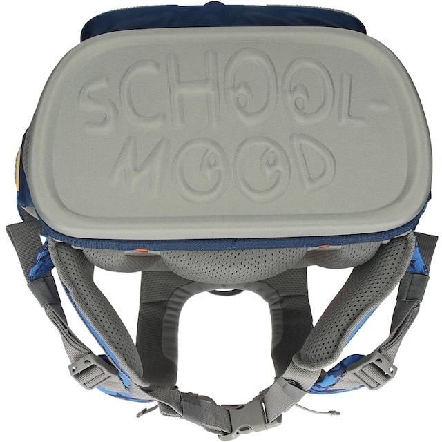 SCHOOL-MOOD® Schulranzen »Timeless eco, Joshua« (Set, 6 tlg.)