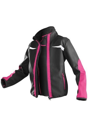 KÜBLER Softshelljacke schwarz/pink kaufen