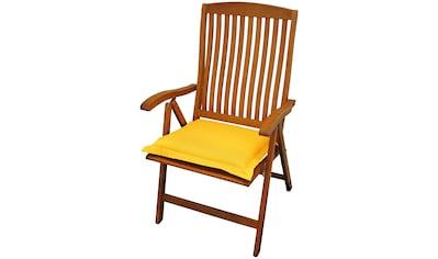 indoba Sitzkissen »Premium«, extra dick - Gelb - IND-70444-AUSK kaufen