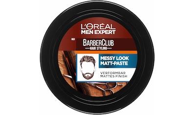 "L'ORÉAL PARIS MEN EXPERT Haarpomade ""Barber Club Messy Look Matt Paste"", starker Halt kaufen"