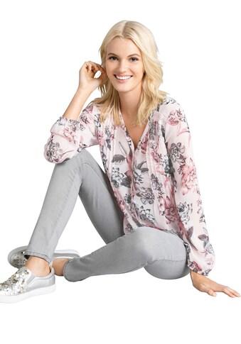 Bluse im floralen Dessin kaufen