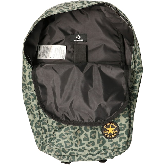 Converse Laptoprucksack »EDC Poly, leopard medium olive«