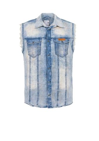 Cipo & Baxx Jeansweste »Ricky« kaufen