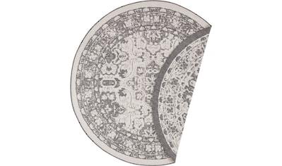Teppich, »Jole«, freundin Home Collection, rund, Höhe 5 mm, maschinell gewebt kaufen