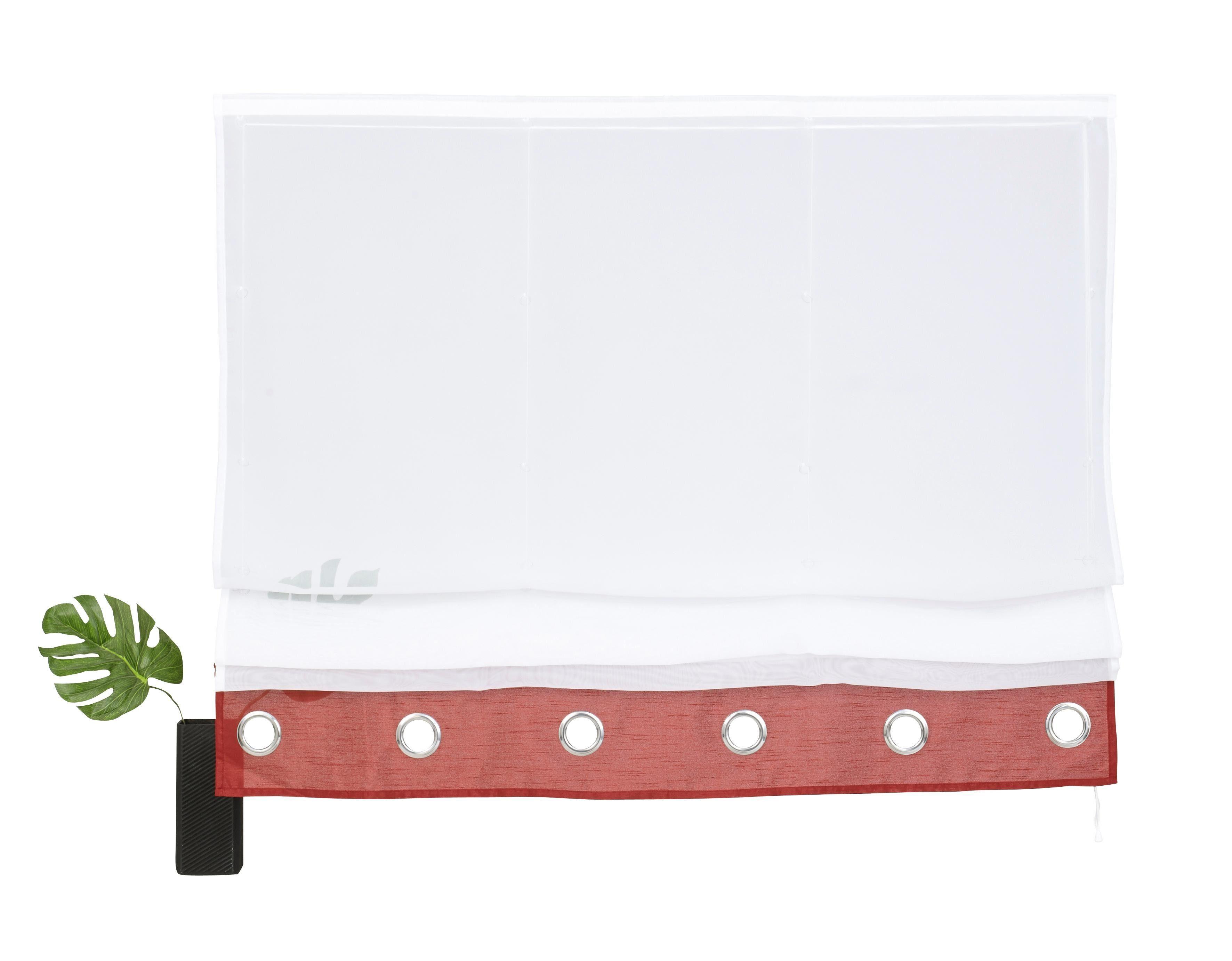 raffrollo rot preisvergleich die besten angebote online kaufen. Black Bedroom Furniture Sets. Home Design Ideas