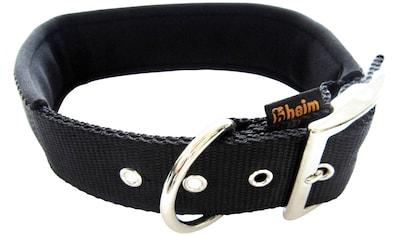 HEIM Hunde-Halsband, Nylon, mit Neopren-Futter, Länge: 40 cm kaufen