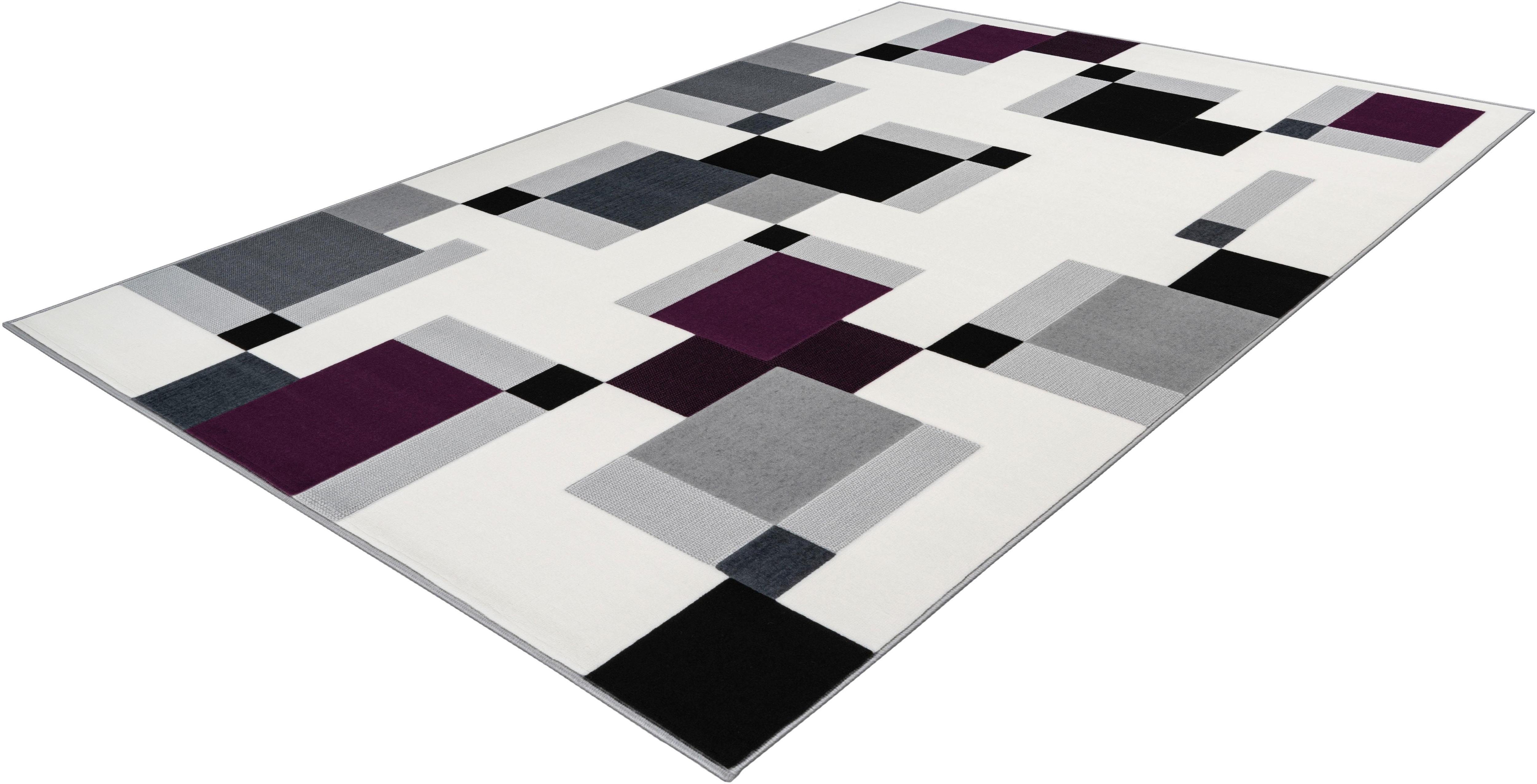 Teppich Lissy 325 calo-deluxe rechteckig Höhe 10 mm maschinell gewebt
