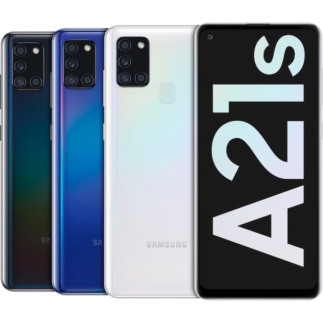 Samsung Galaxy A21s Smartphone (16,63 cm / 6,5 Zoll, 32 GB, 48 MP Kamera)