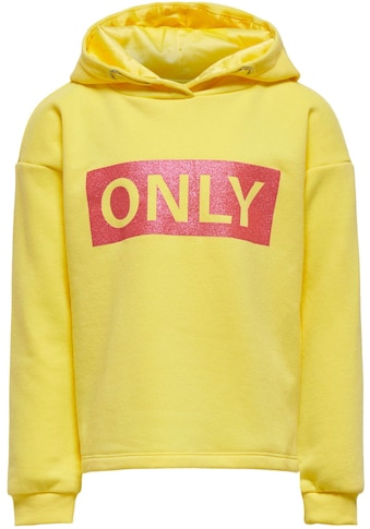 KIDS ONLY Kapuzensweatshirt »KONWENDY«, in legerer Basicform kaufen