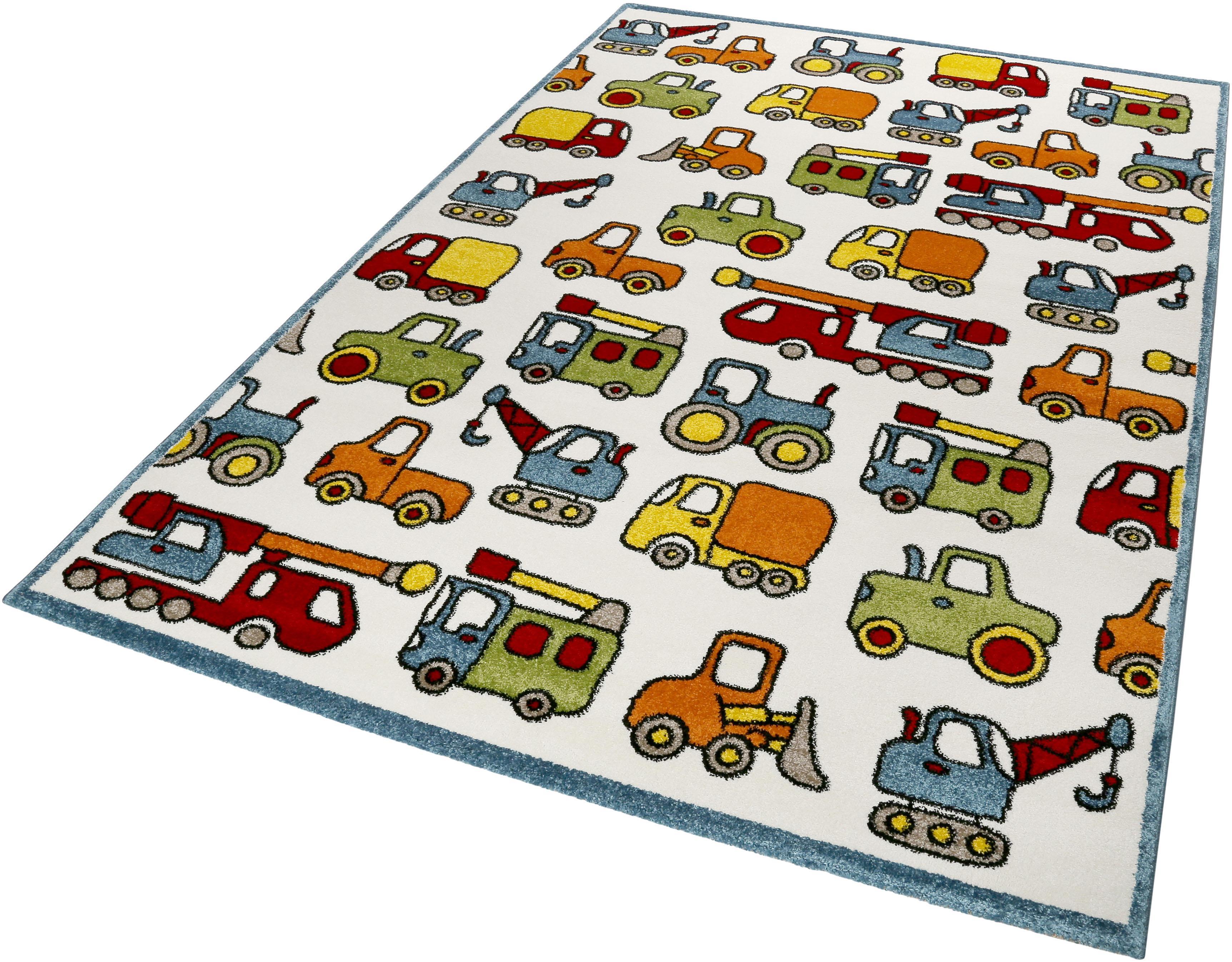 Kinderteppich Vehicles Esprit rechteckig Höhe 13 mm maschinell gewebt