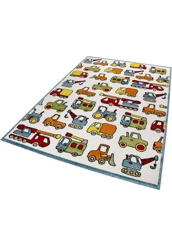 Kinderteppich, »Vehicles«, Esprit, rechteckig, Höhe 13 mm, maschinell gewebt kaufen