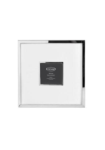 EDZARD Bilderrahmen »Ribera«, versilbert und anlaufgeschützt, für 13x13 cm Foto -... kaufen