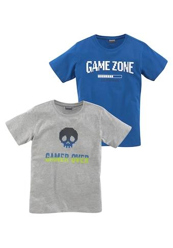 KIDSWORLD T-Shirt »GAME OVER/GAME ZONE« kaufen