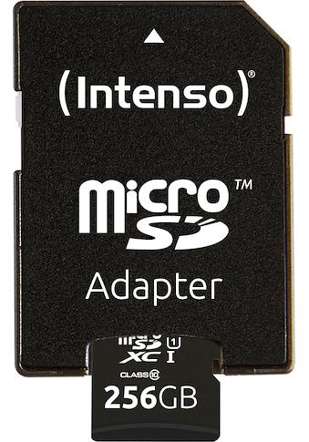 Intenso »microSDHC UHS - I Premium + SD - Adapter« Speicherkarte (45 MB/s Lesegeschwindigkeit maximal) kaufen