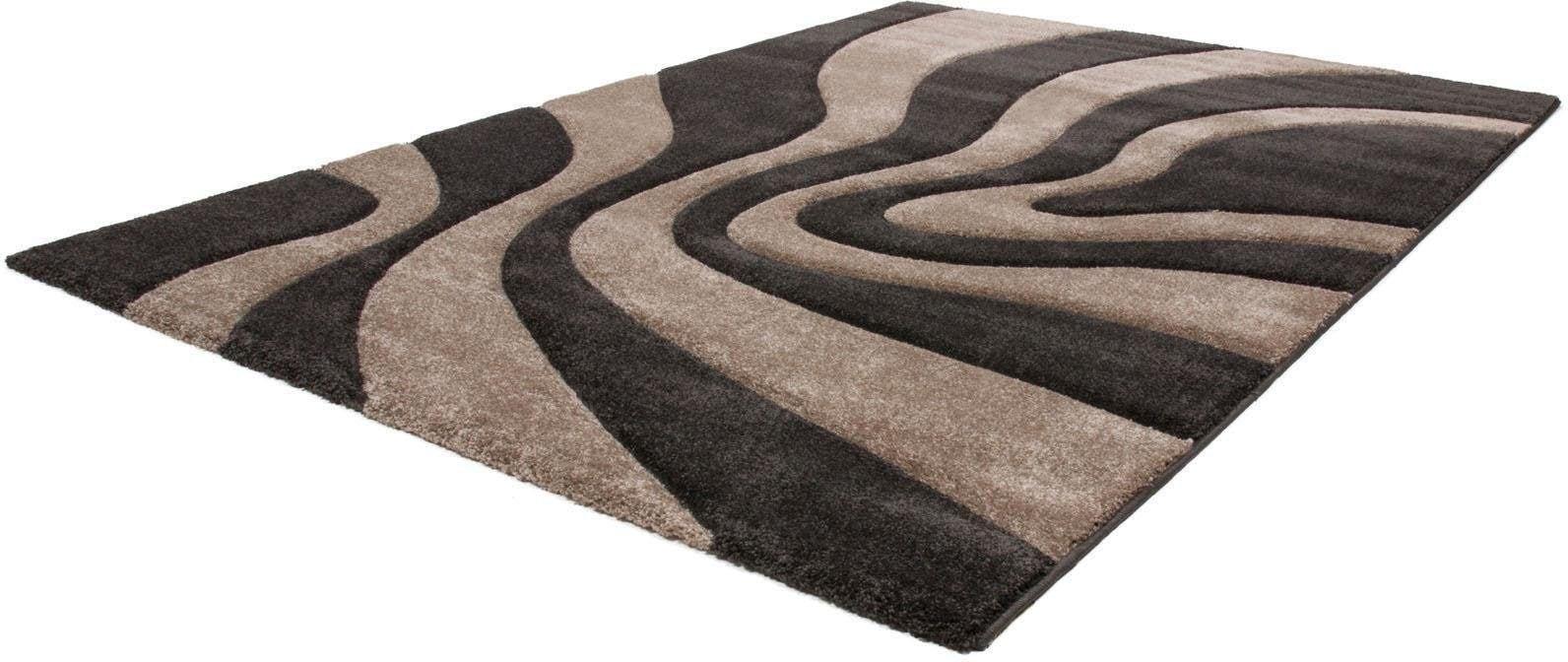 Teppich Alxios 550 calo-deluxe rechteckig Höhe 17 mm maschinell gewebt