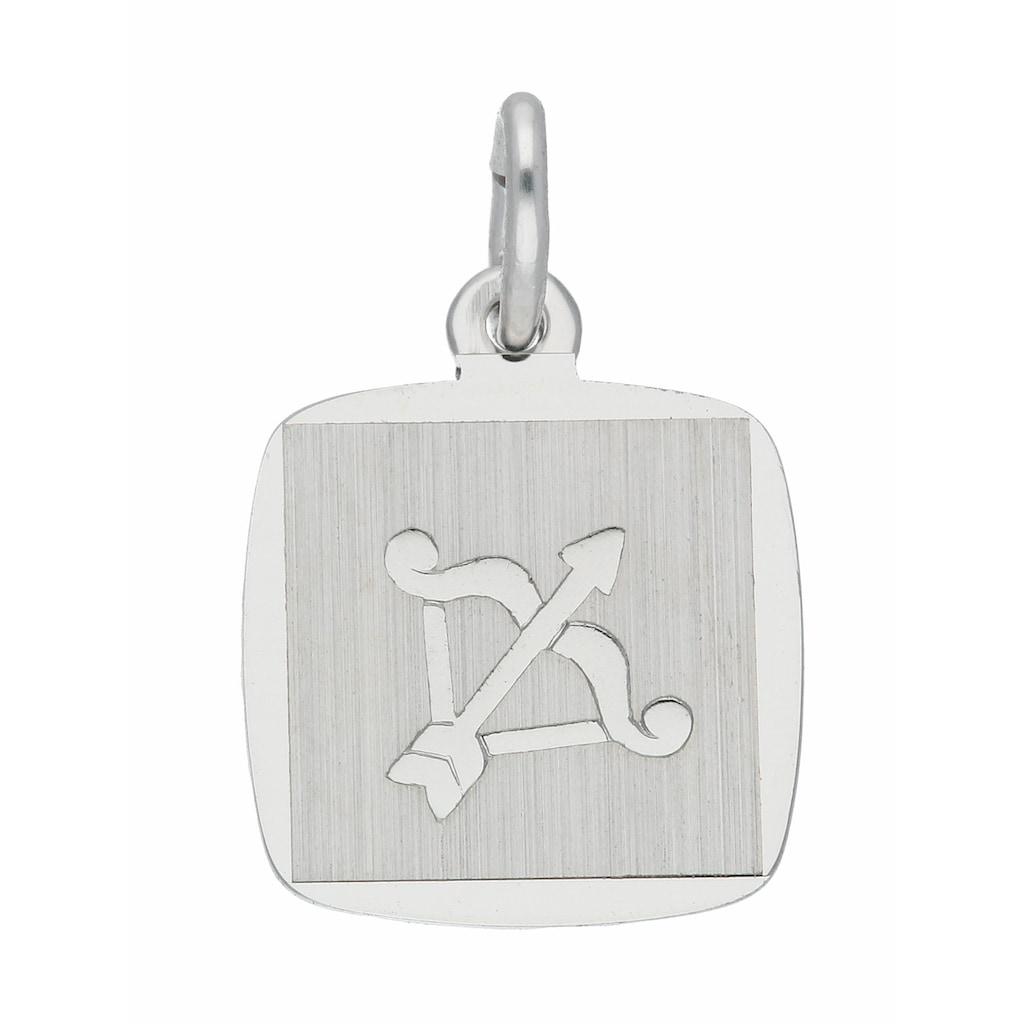 Adelia´s Kettenanhänger »925 Silber Sternzeichen Anhänger Schütze«