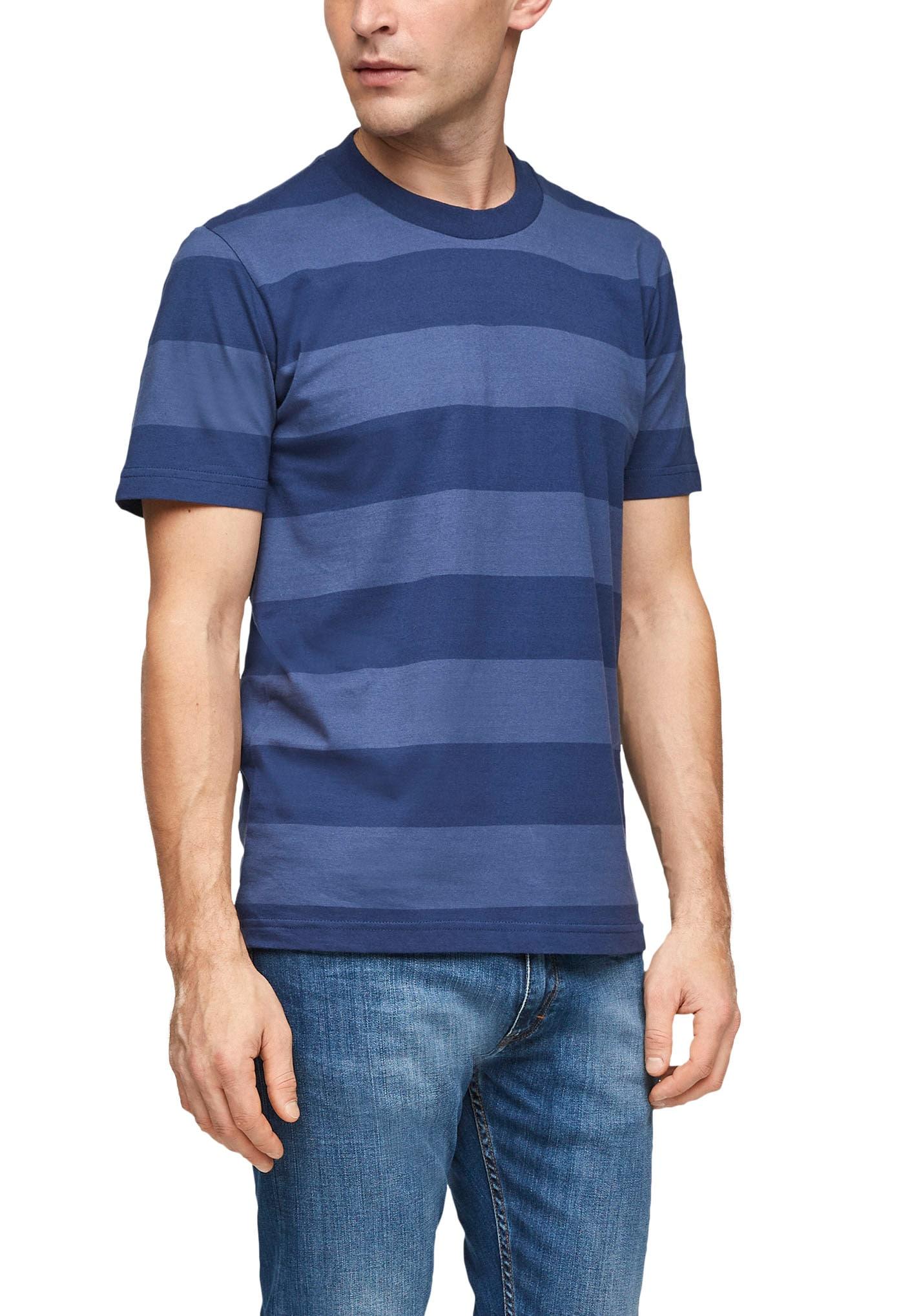 s.oliver -  T-Shirt, mit Blockstreifen