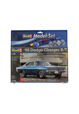 "Revell® Modellbausatz ""Model Set  -  1968 Dodge Charger"", Maßstab 1:25, (Set) kaufen"