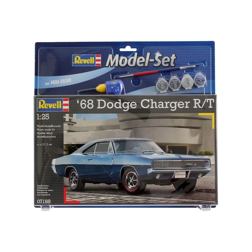 Revell® Modellbausatz »Model Set - 1968 Dodge Charger«, (Set), 1:25