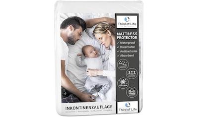 Third of Life Inkontinenzauflage »Inkontinenzauflage«, 100% wasserdichter... kaufen